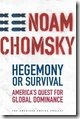 Noam Chomsky-Hegemony or Survival (book cover)